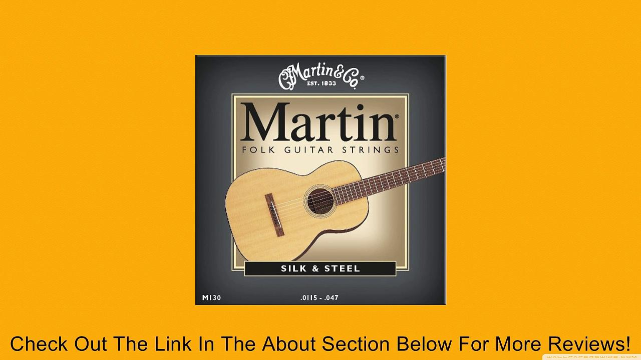 Martin M130 Silk & Steel Folk Guitar Strings, Light Review