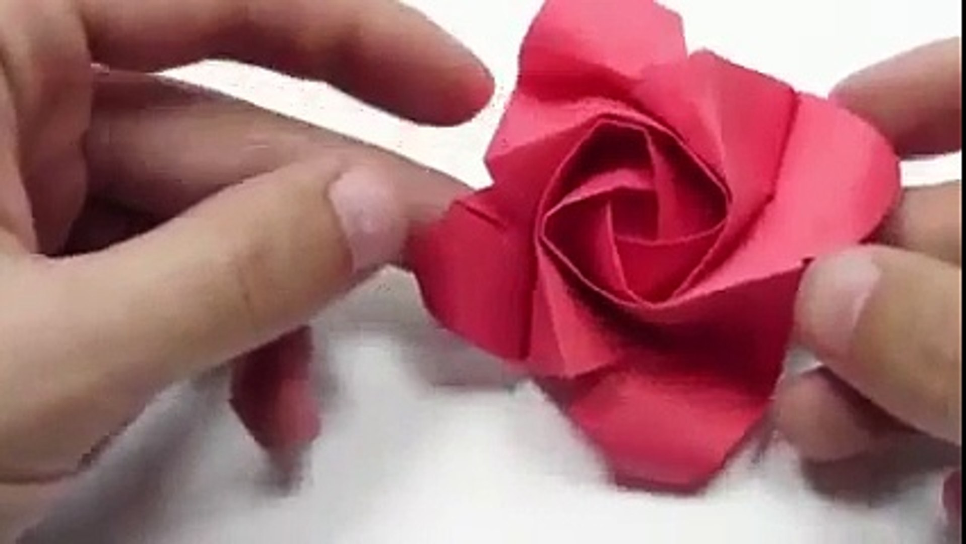 How to Make an Easy Origami Rose Bouquet! | Easy origami rose ... | 1080x1917