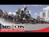 Aaron Colton shares his talent in Motorcycle Stunt Riding