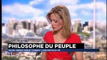 """Michel Onfray sur LCI : """"Je ne soutiens pas Marine Le Pen"""""""