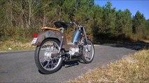 Mobylette Peugeot BB swap 125cc