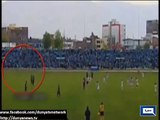 Peruvian footballer Joao Contreras hospitalised after being struck by lightning during match