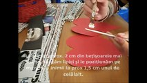 How to: paper basket/ cos de hartie/ recycled paper