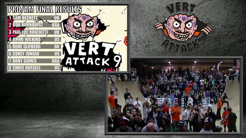 Vert Attack 9 - Prize Ceremony