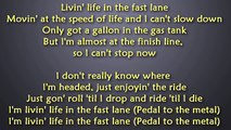 Bad Meets Evil - Fast Lane (Lyrics) [HD _ HQ]