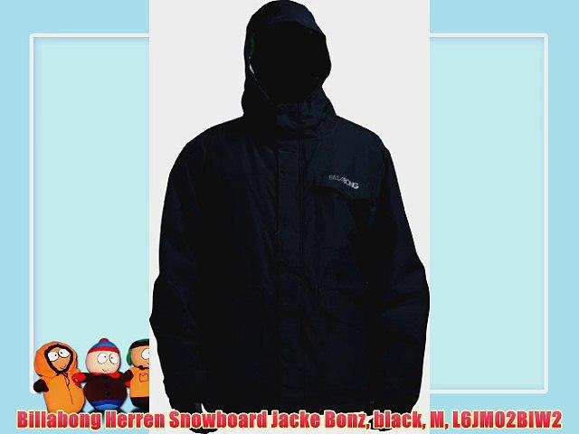 Billabong Herren Snowboard Jacke Bonz black M L6JM02BIW2
