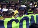 Brésil: un million et demi de manifestants contre Dilma Rousseff