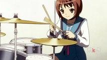 [AMV] Haruhi x Kaori x Gumi - God Knows... [Orchestral Vocaloid]