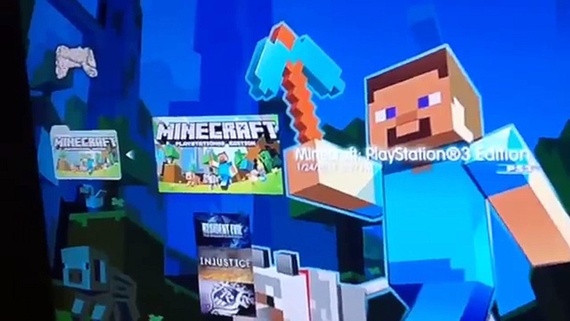 Comment Jouer En écran Partagée Minecraft Ps3