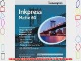 Inkpress Inkjet Matte 60 Photo Paper 4x6 100 Sheets