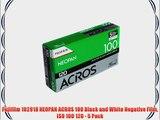 Fujifilm 102918 NEOPAN ACROS 100 Black and White Negative Film ISO 100 120 - 5 Pack