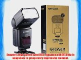 Neewer NW685C E-TLL II *High Speed Sync* HSS LCD Display Speedlite Flash for Canon 5D Mark
