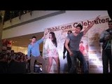 Student Of The Year STARCAST At Infiniti Mall PROMOTION Of The Film SOTY