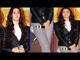 Sexy Alia Bhatt In Hot Tight Pant & Black Jacket