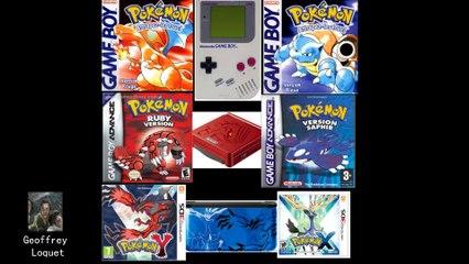 Pokemon rouge/bleu - 8ème plus grand jeu de tous les temps
