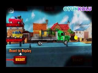 3D Araba Taşıma Kamyonu Oyununun Oynanış Videosu