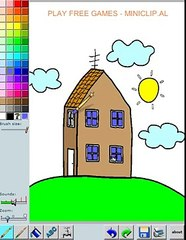 Coloring House on Pegga Pig - Play free games online