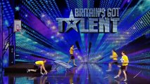 suuuuper! Face Team basketball acrobatics Britain's Got Talent 2014 audition International version