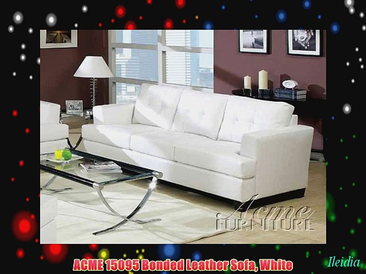 Fine Acme 15095 Bonded Leather Sofa White Pdpeps Interior Chair Design Pdpepsorg
