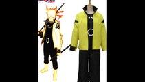 Naruto Uzumaki Naruto Nine-Tails Bijuu Mode 3rd Cosplay Costume-Eshopcos
