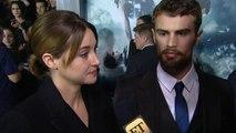 Shailene Woodley & Theo James Promise 'Bigger,' Sweatier 'Insurgent' Action