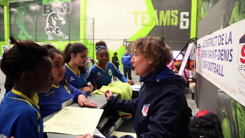 Le district du 93 de Football organise le Trophée Féminin U13-U16 au Team5
