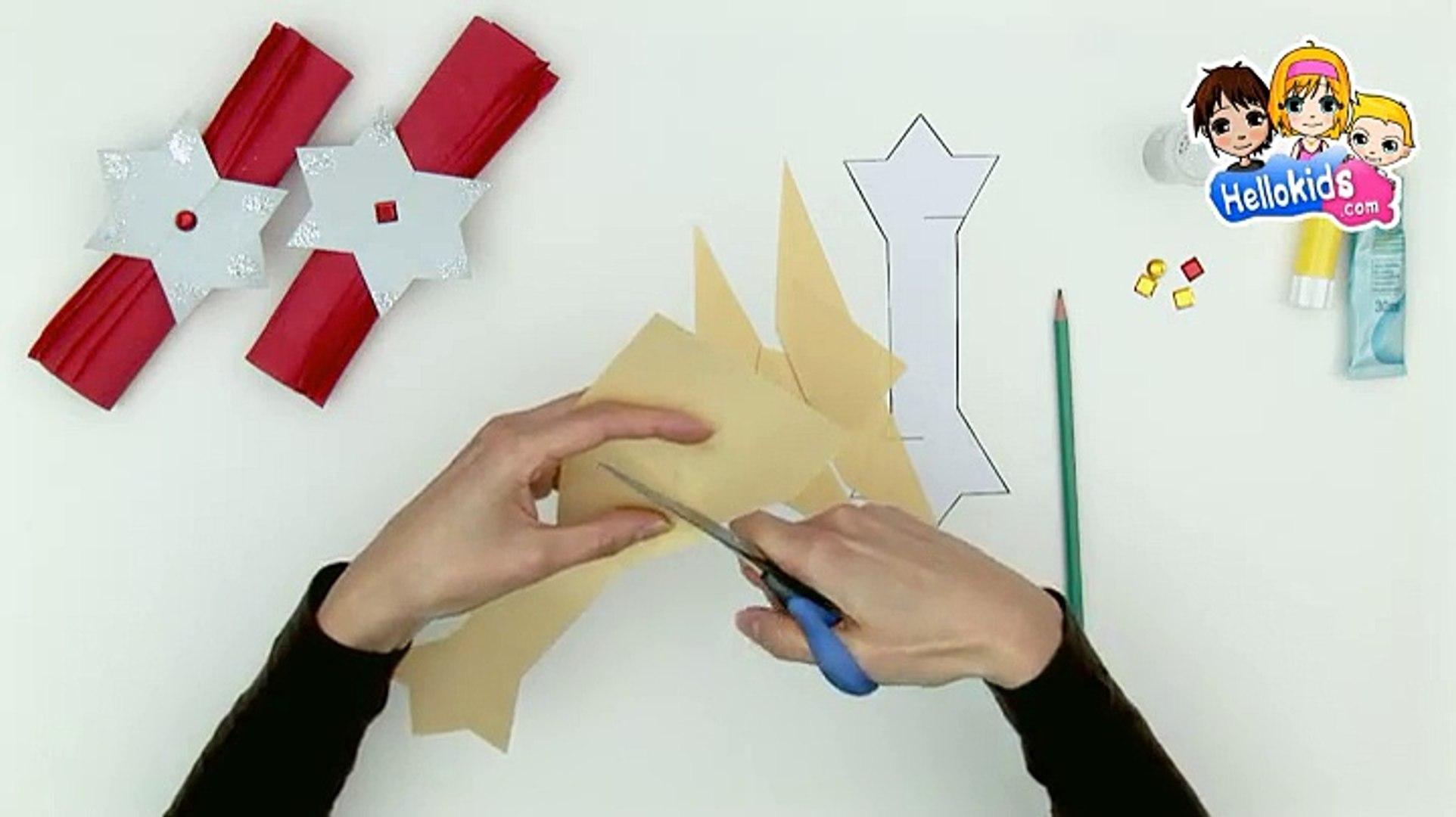 Rond De Serviette A Fabriquer Pour Noel bricolage noel : fabriquer des ronds de serviette