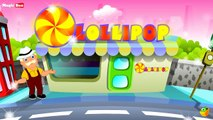 Karaoke - Lolly Pop - Songs With Lyrics - Cartoon - Animated Rhymes For Kids