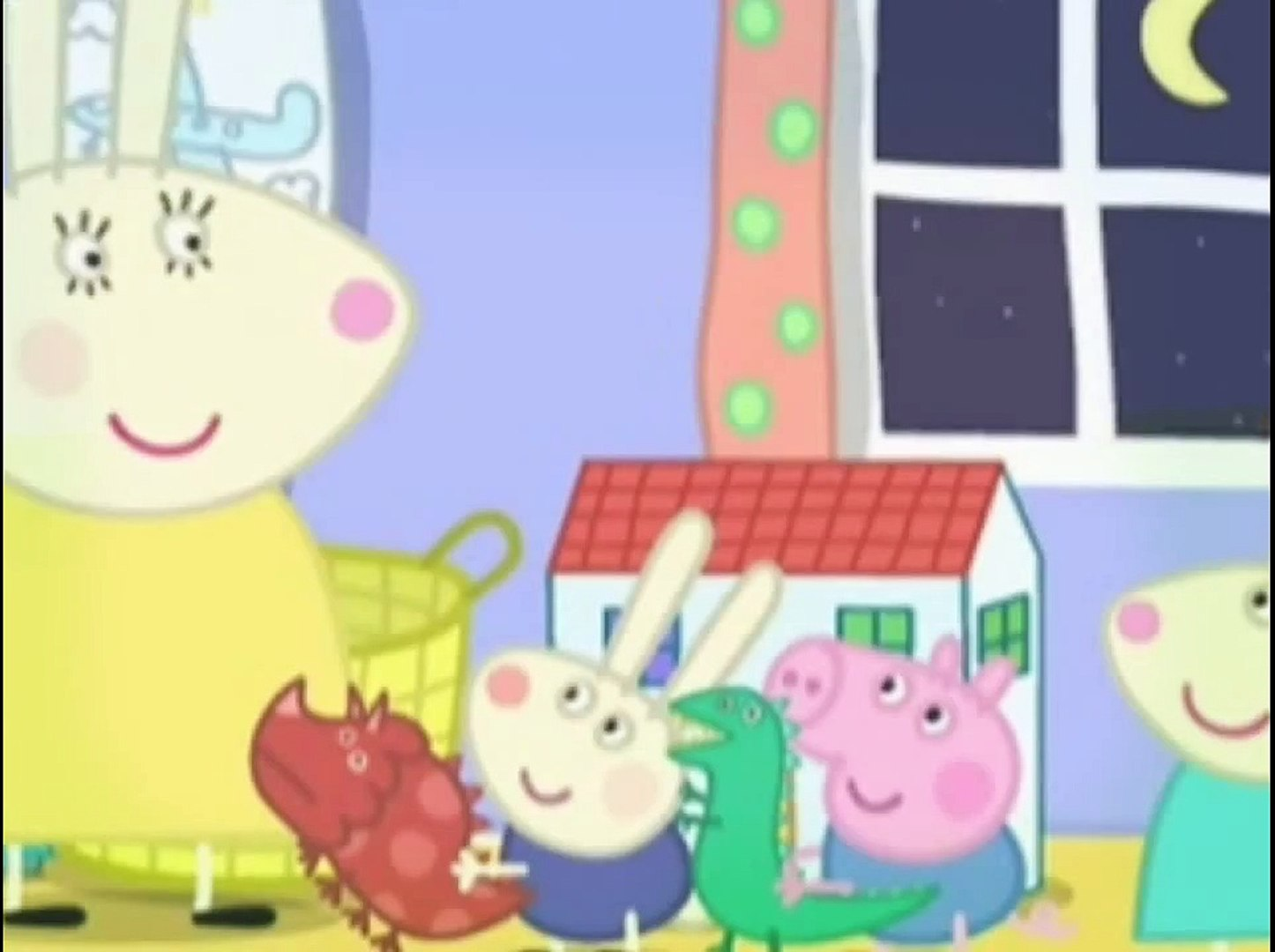 Peppa Pig Cochon La Maison De Rebecca Rabit Francais Video Dailymotion