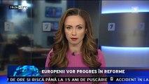 Europenii vor progres în reforme. Autorităţile de la Chişinău trebuie să asigure un progres real în implementarea reformelor.