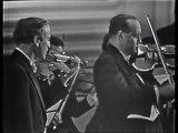 Yehudi Menuhin et David Oïstrakh dans le Double concerto pour violon de Bach