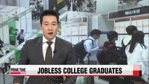 Korea has more jobless university grads than jobless high school grads