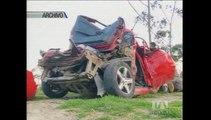 Autoridades analizan medidas para evitar accidentes en la Av. Simón Bolívar