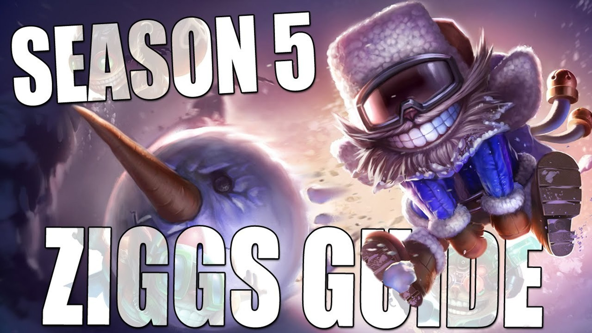 Season 5 Ziggs Guide :: League of Legends Tutorial & Gameplay!