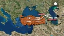 Trans-Anatolische Pipeline gibt Gas