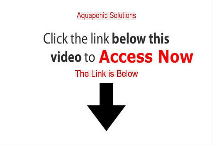 Aquaponic Solutions Review [Aquaponic Solutionsaquaponic solutions 2015]