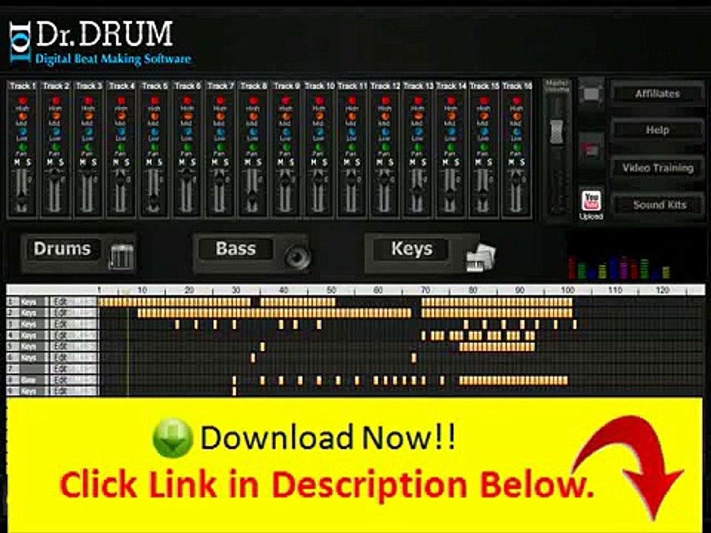 dr drum beat making software free download