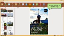 How to Embed YouTube to PDF Brochure for Online Sharing