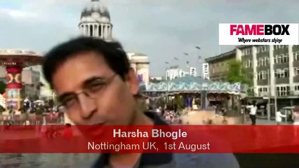 Out of the Box with Harsha Bhogle : Nottingham UK