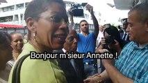 Sortie médiatique de George Pau-Langevin à La Réunion