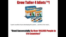 Grow Taller 4 Idiots Review - Grow 2-4 Inches In 6-8 Weeks GUARANTEED