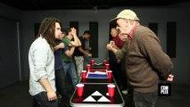Beer-Pong : Les vieux contre les jeunes