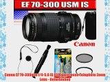Canon EF 70-300mm f/4-5.6 IS USM Autofocus Telephoto Zoom Lens - Refurbished
