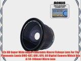 .42x HD Super Wide Angle Panoramic Macro Fisheye Lens For The Panasonic Lumix DMC-GX7 GM1 GF6