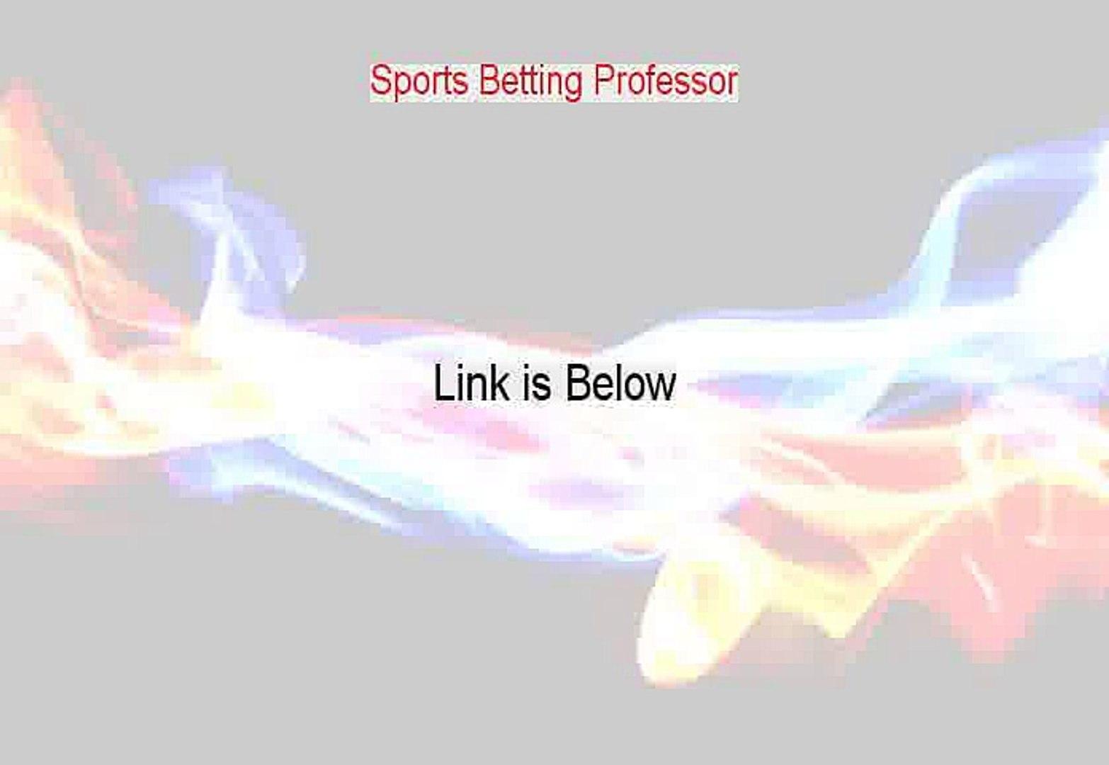 Sports betting professor login churchill downs betting