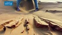 Une réaction insolite dans le desert du sahara