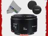 Canon EF 50mm f/1.8 II Camera Lens for T3 T3i T4i T5 T5i 5D 6D 60D 7D 70D SL1 600D 650D 700D