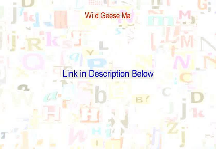 Wild Geese Ma Reviews [See my Review]