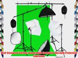 Linco Photography Studio Lighting Backdrop Photography Background Muslin 2 Set Boom Stand Photo