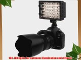 NEEWER? 160 LED CN-160 Dimmable Ultra High Power Panel Digital Camera / Camcorder Video Light